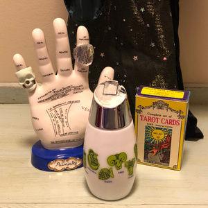 70's VTG Astrologie Zodiac Glass Sugar Pour Jar